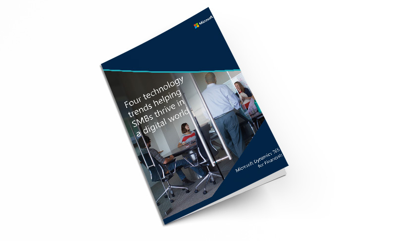 Whitepaper: Four technology trends helping SMBs thrive in a digital world